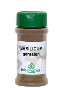 Gemalen basilicum