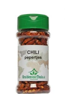 Chili pepers potje
