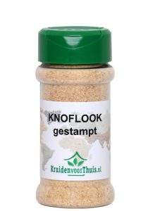 Knoflook gestampt