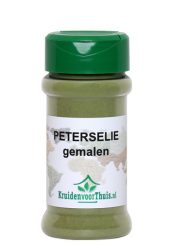 Peterselie gemalen